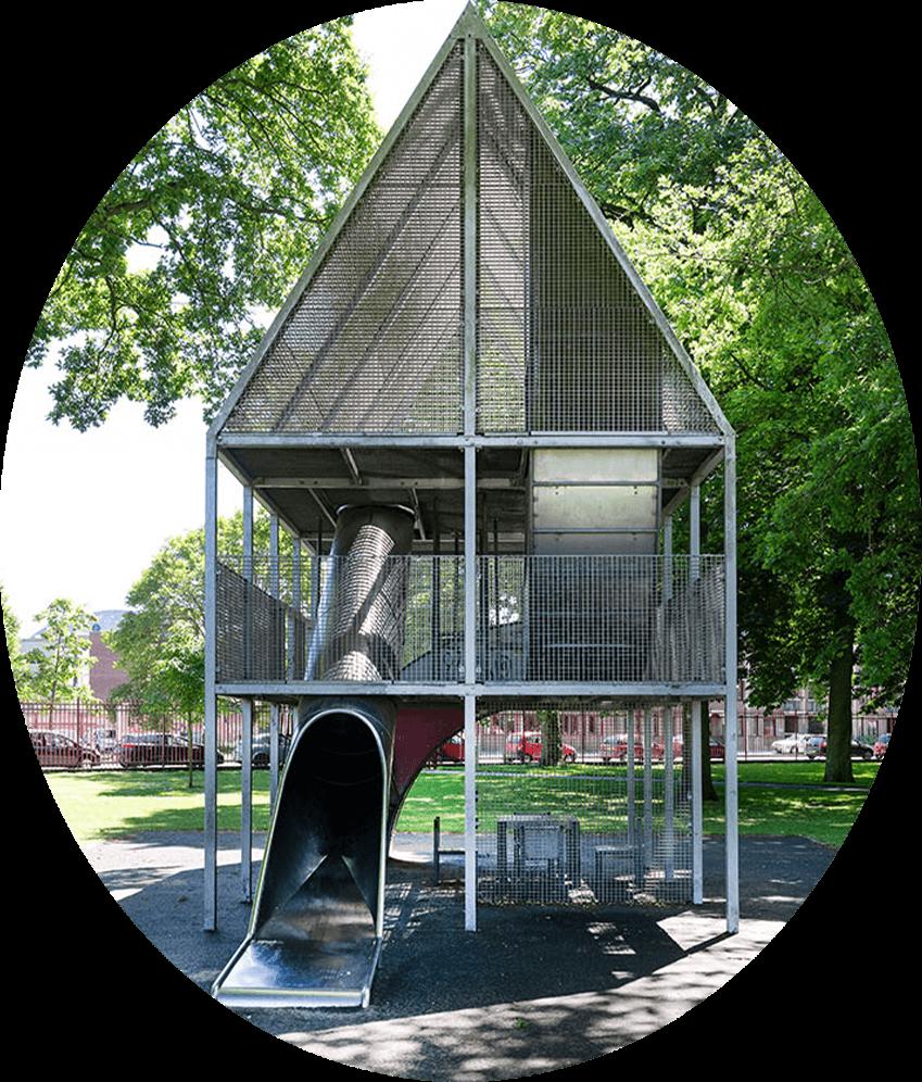 Nieuwbouw Tuinen van Genta - Persona - romy dominick elijah en felice - de speeltuin