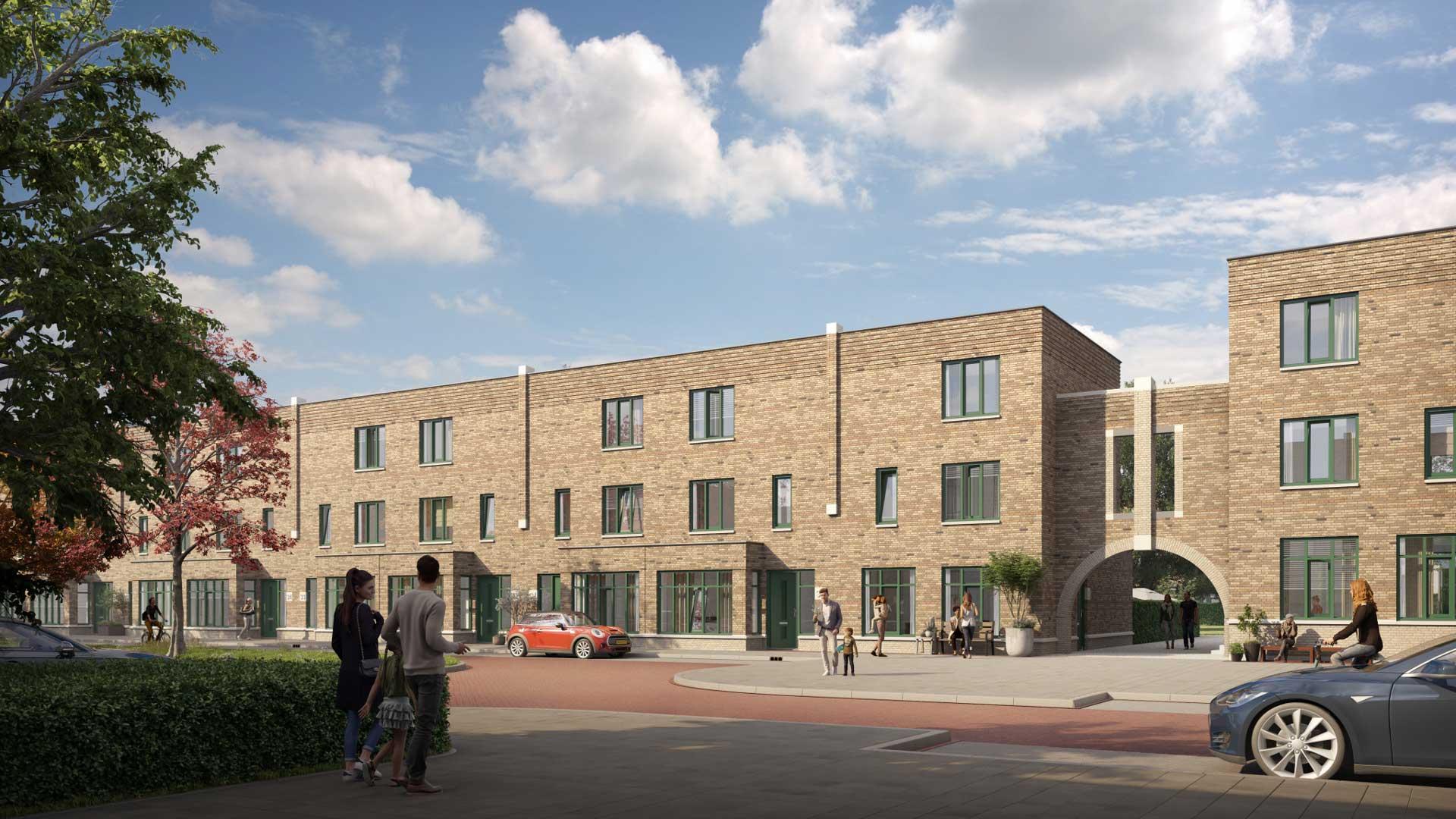 Nieuwbouwproject-Breda-Tuinen-van-Genta-Herenhuizen-Middenas
