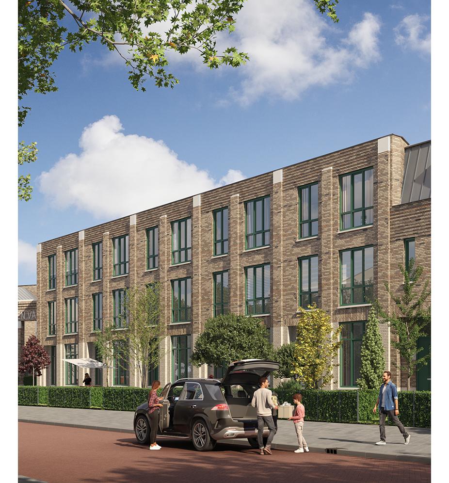 Nieuwbouwproject Breda - Tuinen van Genta